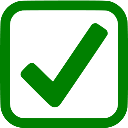 Green Checkbox Icon